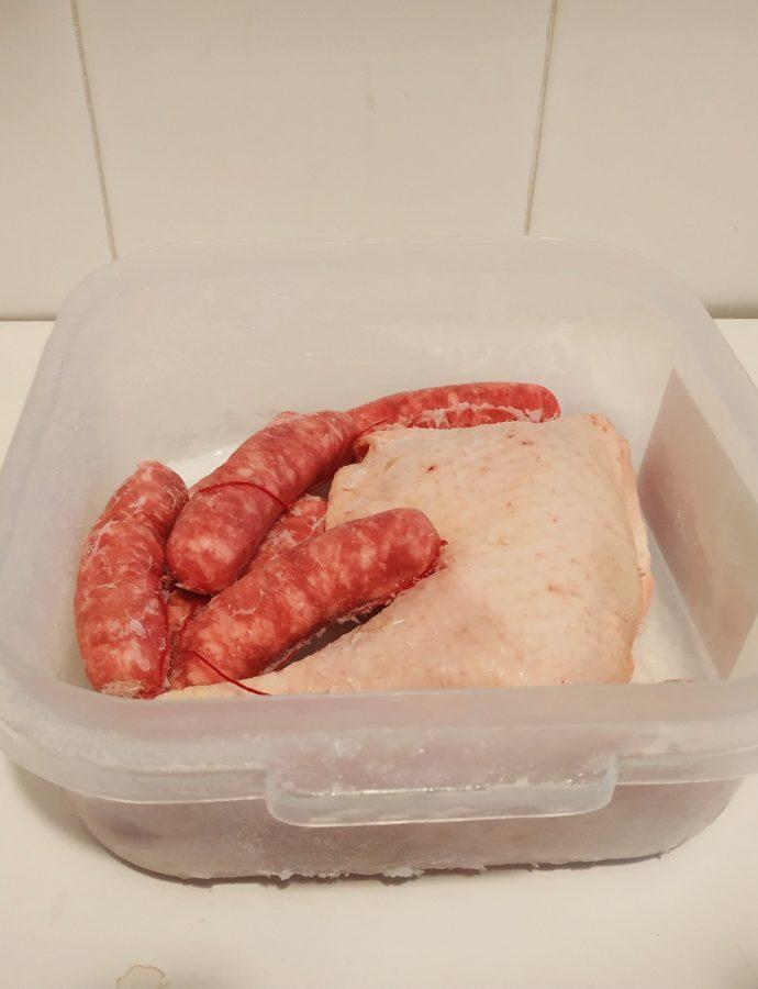 Com congelar carn i peix