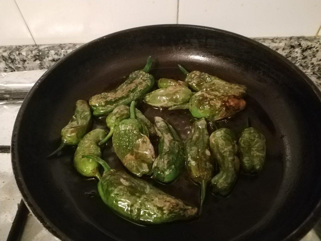 recepta pimentons padrón