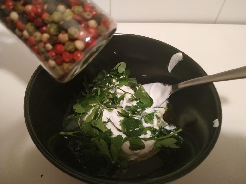 recepta salsa iogurt