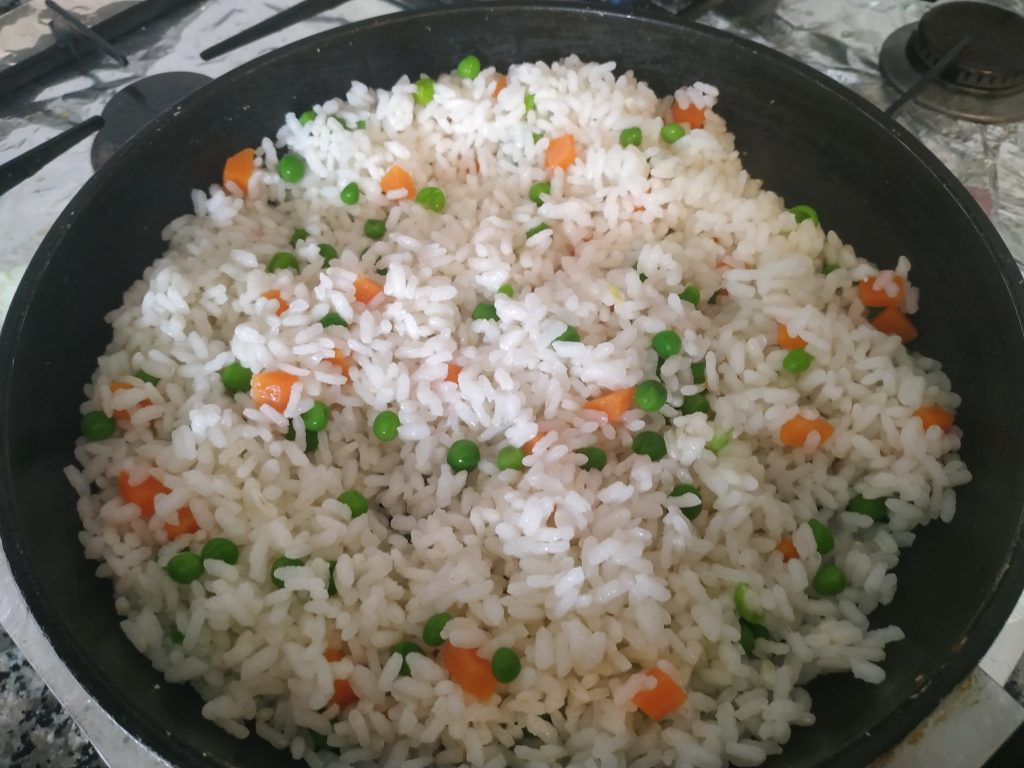 recepta arròs tres delicies