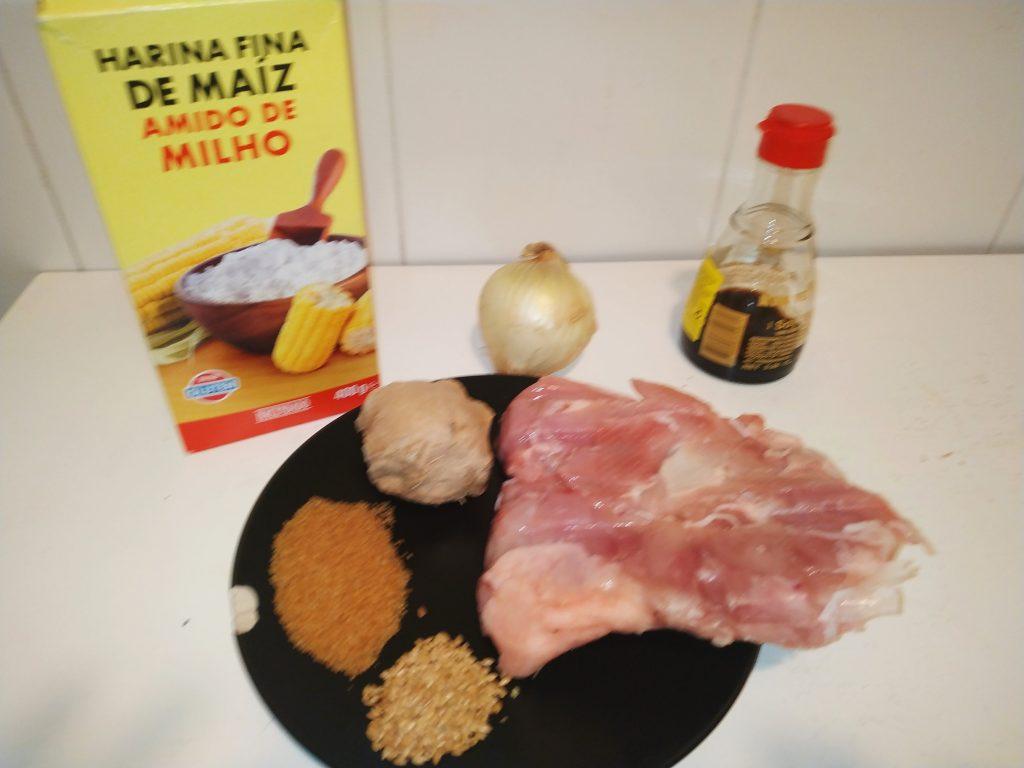 ingredients pollastre teriyaki