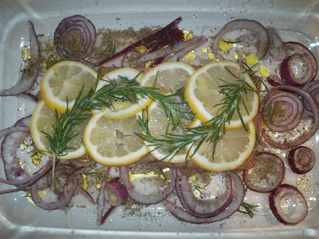 recepta salmó al forn amb llima i romer